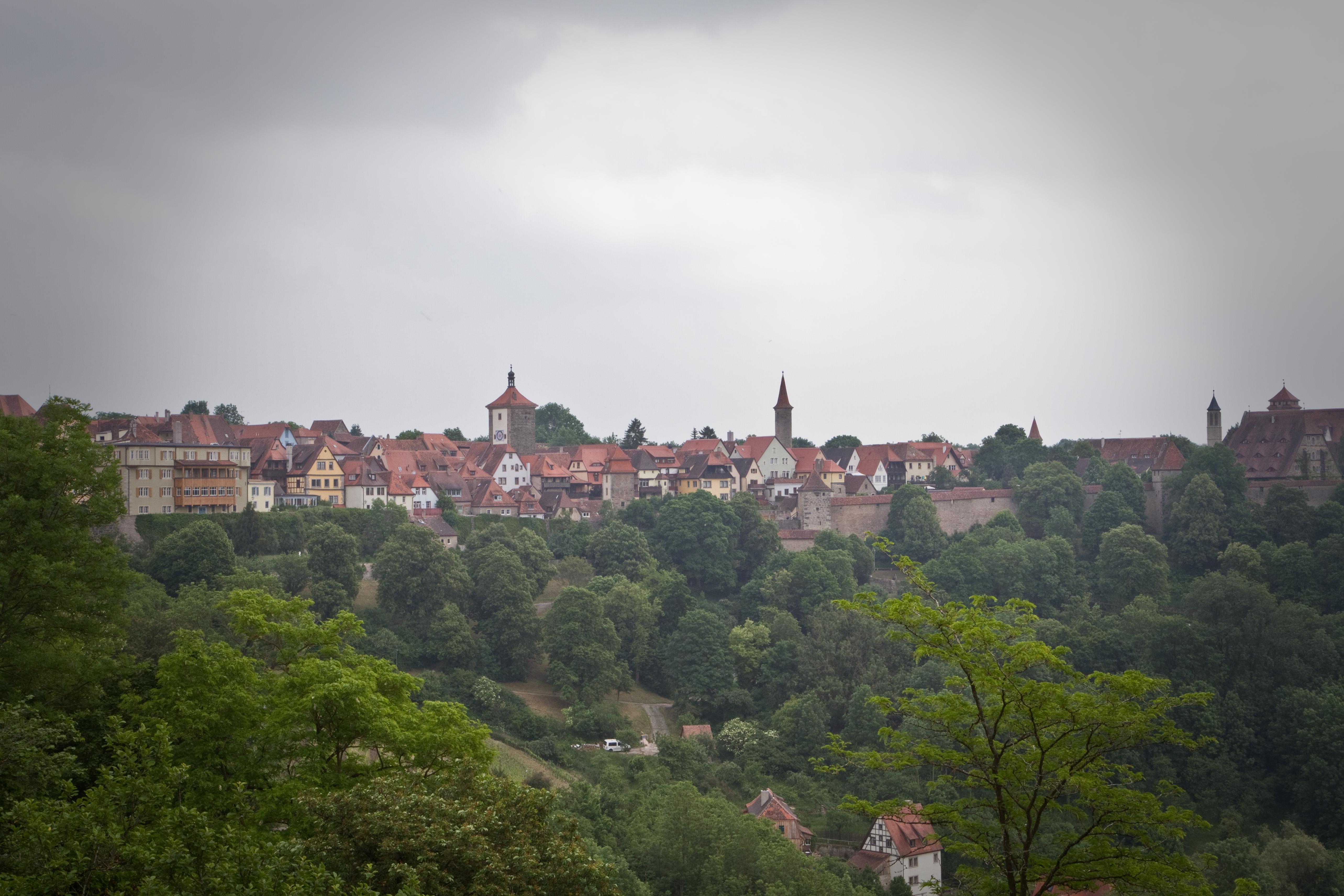 Ausblick von der Burgmauer
