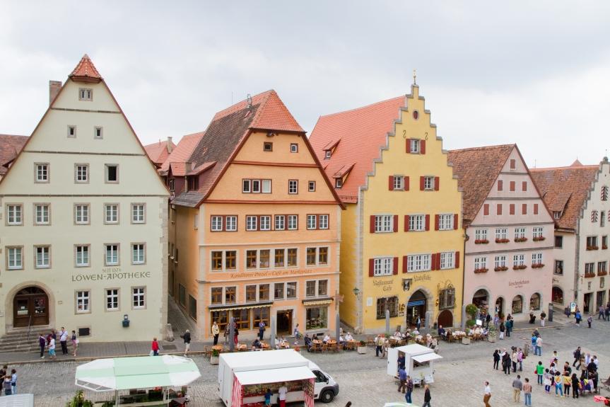 Rothenburg ob der Tauber – A star isborn