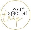 Logo your special trip