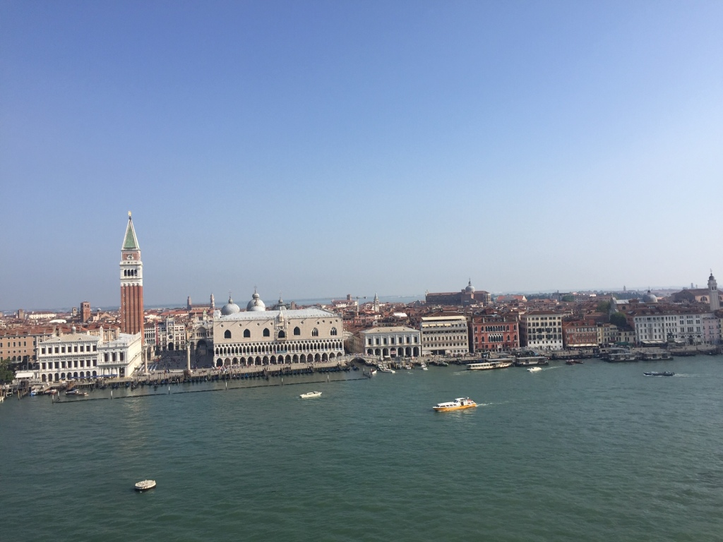 Venedig Markusplatz und Dogenpalast