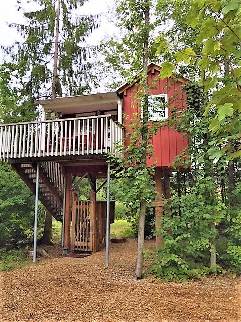 Baumhaus – das wackelt ganzschön