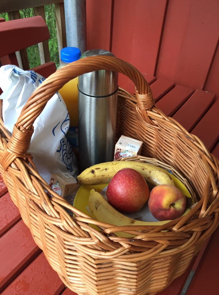 Frühstückskorb, Erlebnispark Voglsam