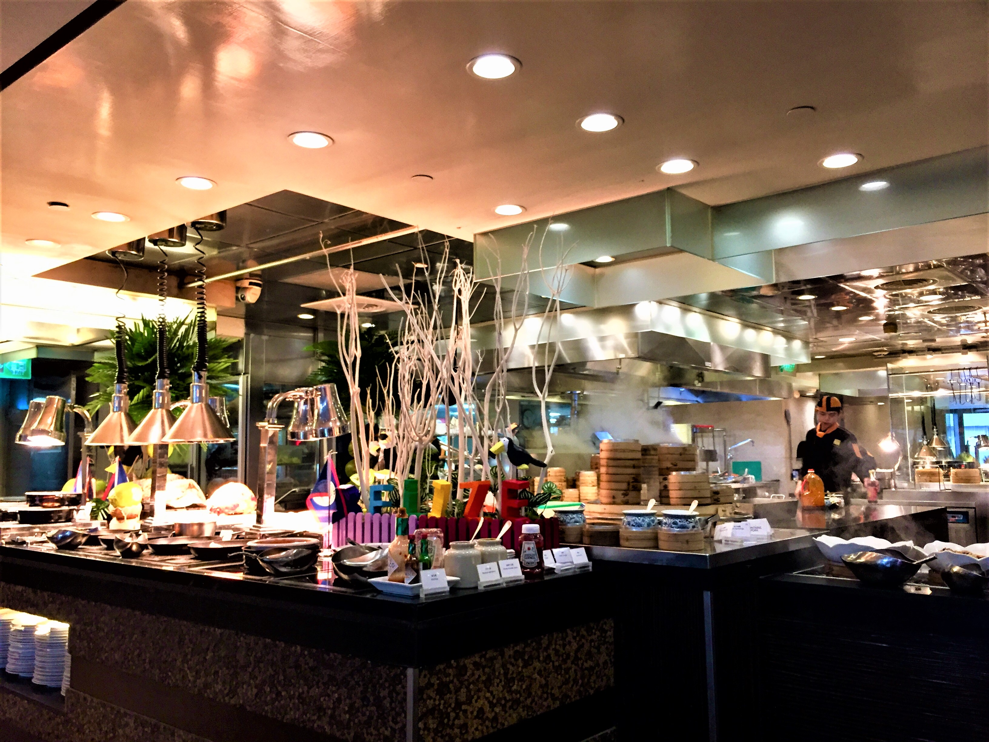 Frühstücksbuffet Shangri-La Taipeh