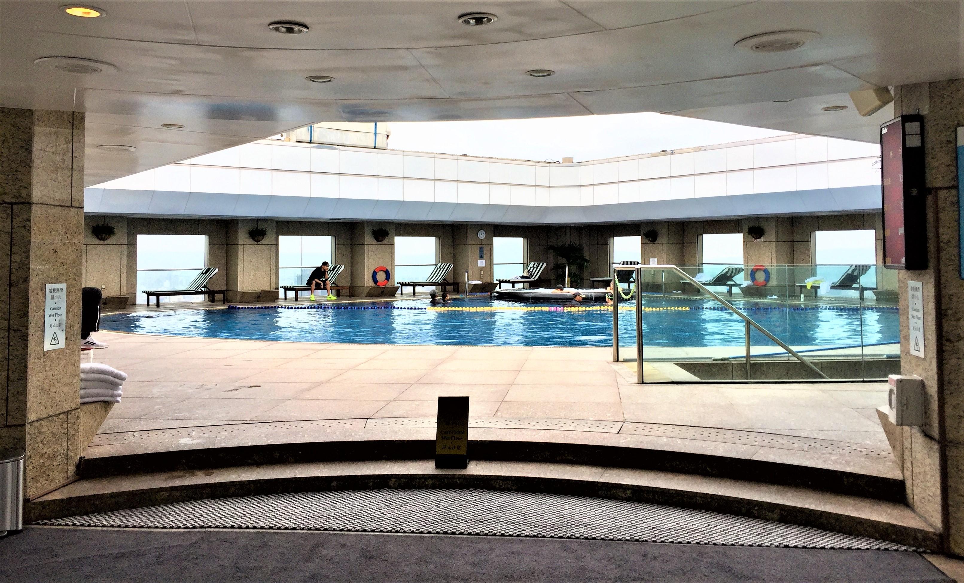 Rooftop Pool Shangri-La Taipeh