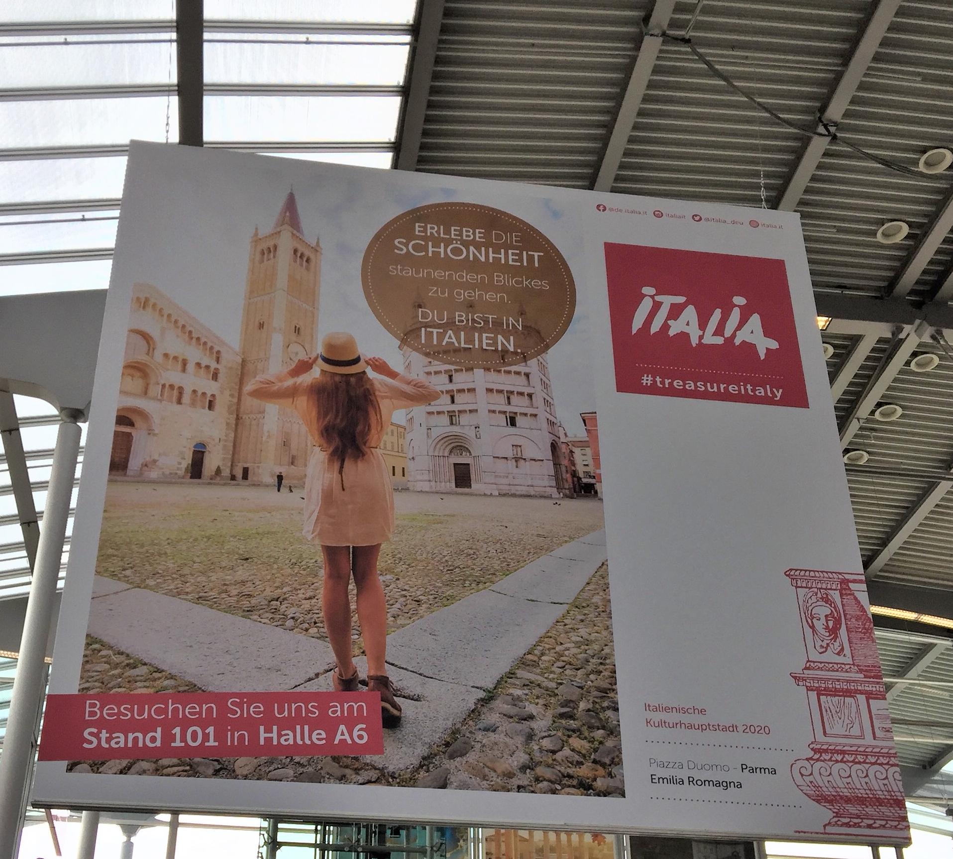 Italia Partnerreiseland Italien auf der Free Reisemesse 2020