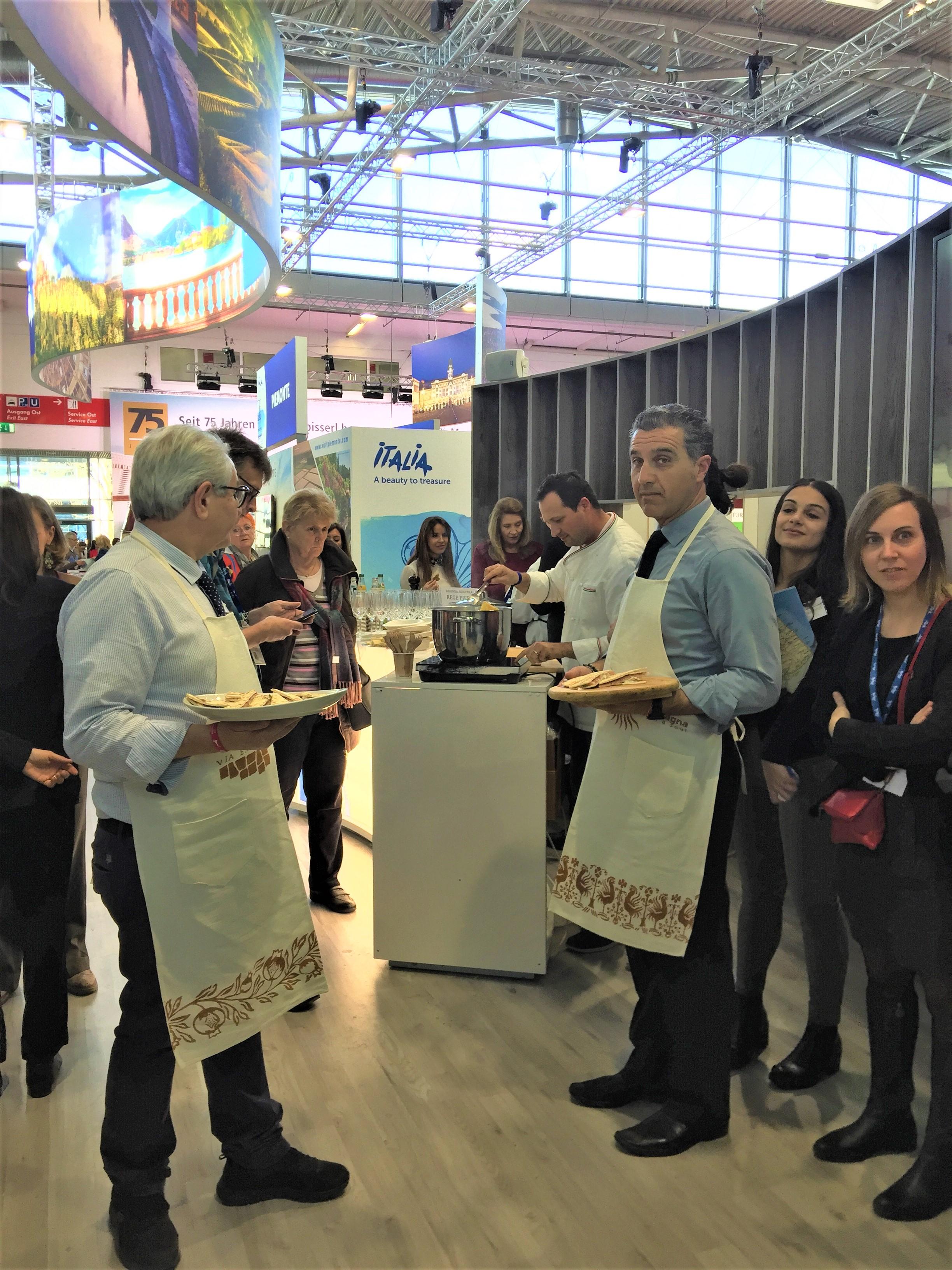 Bella Italia in Action auf der free Reisemesse München 2020