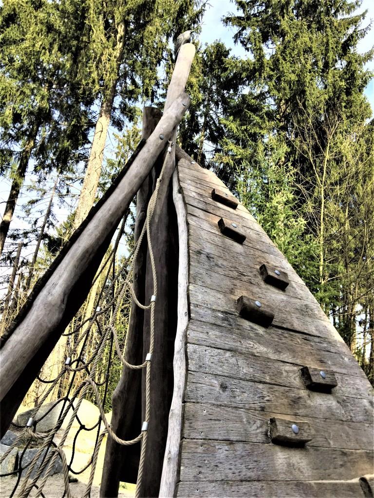 Spielplatz Weltwald Freising Amerika-Garten